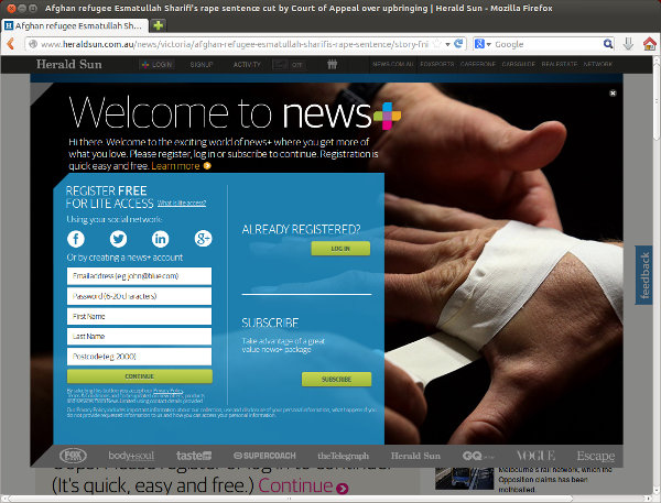 How to Bypass the Herald Sun's Paywall | Übermotive